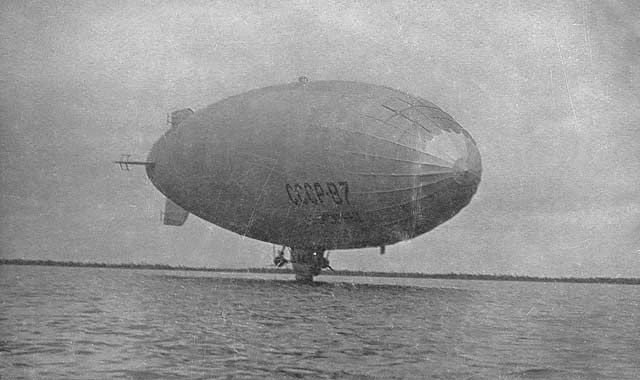 "Mid 1930's. Dirigible USSR-V7bis ""Chelyuskinets"""