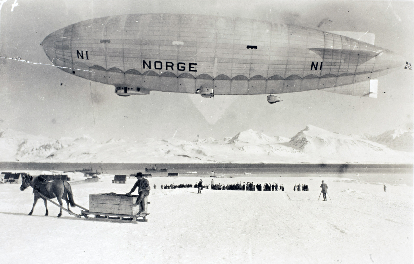 May 11, 1926. Dirigible N-1